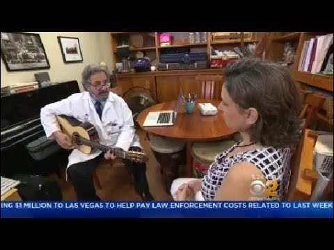 Manhattan Hospital Uses Music Therapy To Help Cancer Patients Relieve Stress