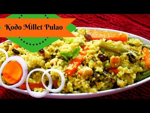 kodo millet pulao recipe | varagu arisi pulao recipe in tamil | varagu arisi recipe