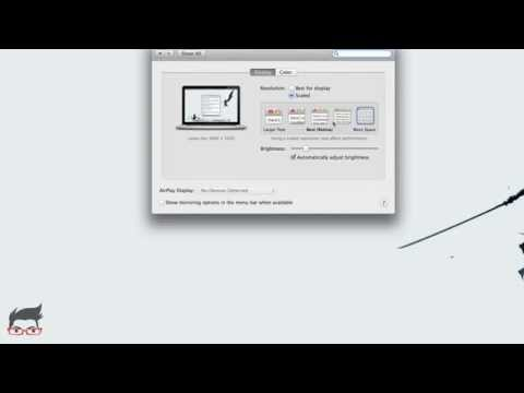 Set Retina Resolution On Macbook Pro Retina