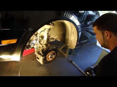 VW DIY How to install / replace / fix a CV joint : Drive shaft on MKIV Golf www.FixMyVW.com