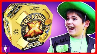 Lost TREASURE X Hunt! HobbyKids Find REAL GOLD in Treasure X Scavenger Adventure with HobbyBobby