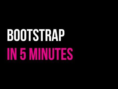 Bootstrap in 5 minutes   Responsive Website Tutorial   Code in 5