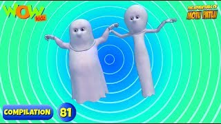 Motu Patlu - 6 episodes in 1 hour | 3D Animation for kids | #81