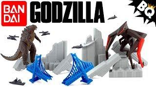 Godzilla Destruction City Bandai Play Set Review - Brickqueen