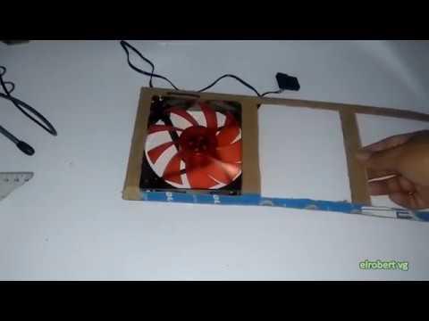 comó hacer un filtro anti polvo para tu PC