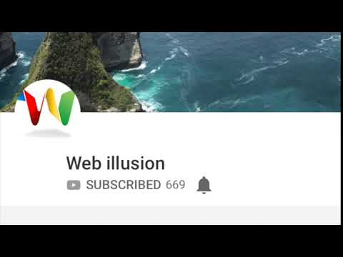 Webillusion subscribe with music