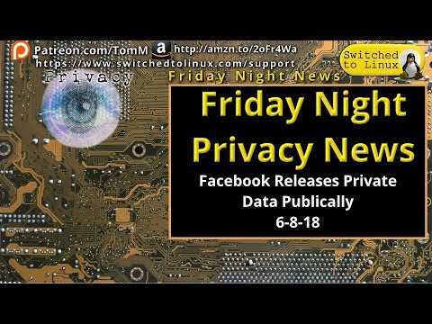 Facebook Publishes Private Data as Public