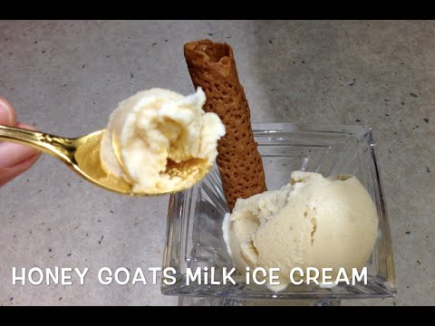 Goats Milk Honey Ice cream cheekyricho Thermochef Tutorial