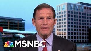 Senator Richard Blumenthal Says Arming Teachers Is