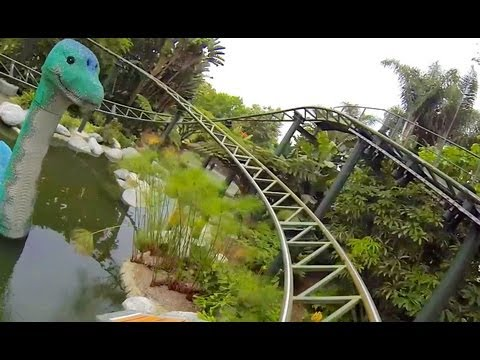 Coastersaurus (HD POV) - Legoland California