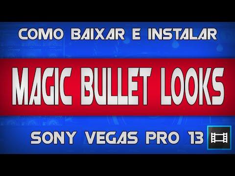 Como baixar , instalar e ativar MAGIC BULLET LOOKS - Sony Vegas PRO 12/13