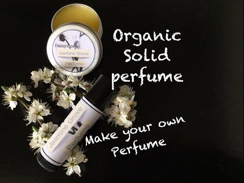 Homemade Organic Solid Perfume Recipe