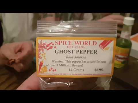 BHUT JOLOKIA Ghost pepper 1/4 Dried