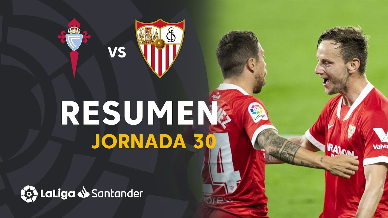 Resumen RC Celta vs Sevilla FC (3-4)