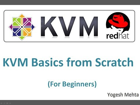 Configuring Kernel Based Virtual Machine (KVM)  on  RHEL or  CentOS 7