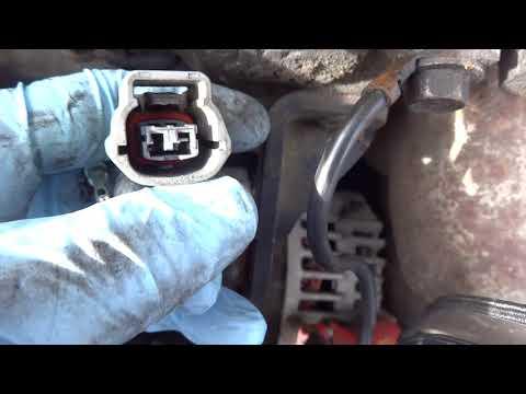 Nissan Sentra Coolant Temperature Sensor Wiring Repair