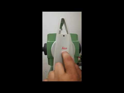 How can station orientation with Coordinates Leica Ts02 , 06 , 09 Urdu Hindi