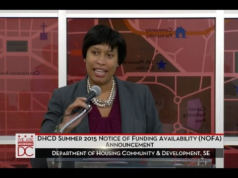 Mayor Bowser Directs $90 Million Toward 800 Affordable Housing Units, 1/29/16