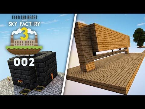 Sky Factory 3 EP2 | Smeltery & Starter Mob Farm! (1.10.2 Modded Minecraft)