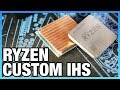 Ryzen Custom Copper IHS Tested