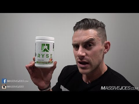 Ryse Up BCAA + EAA Amino Acid Supplement Review - MassiveJoes.com Raw Review
