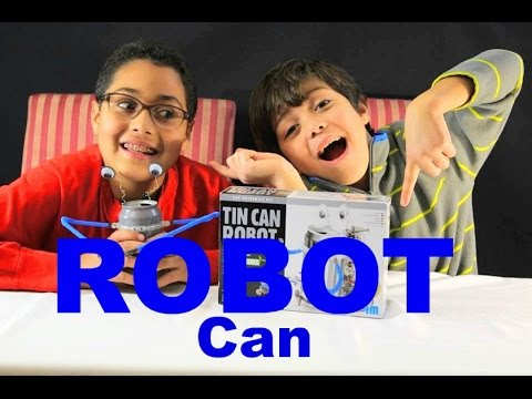 TIN CAN ROBOT // Toy Review