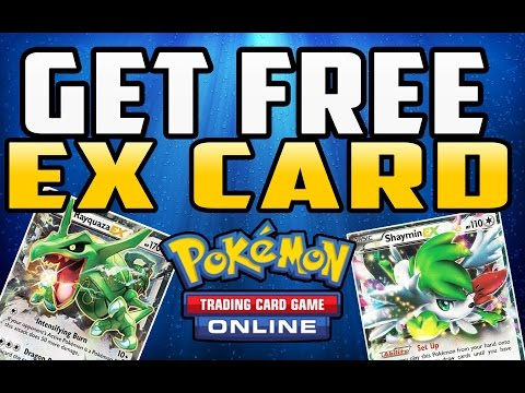 How to Get a Free EX Card in Pokemon TCG Online