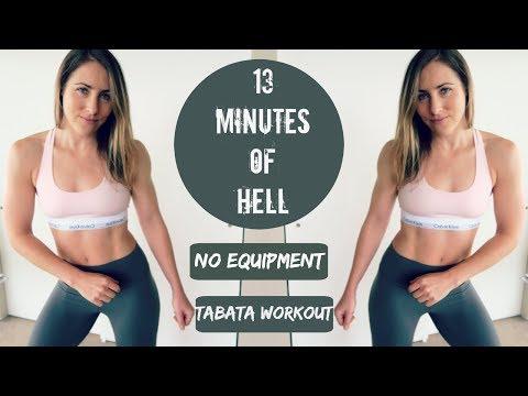 13 Minutes of Hell // No Equipment Tabata