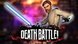 Obi-Wan has the High Ground in DEATH BATTLE!