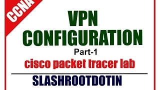 Vpn Configuration Lab Using Cisco Packet Tracer Part 1