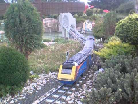 Lego East Midlands Trains HST at Legoland Winsor