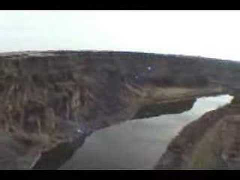BASE Jumping, so easy a sack of dog food can do it.