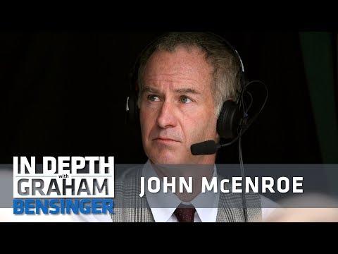John McEnroe: My best work is when I shut up