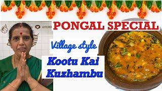 Pongal Spl/kootu Kai Kuzhambu by Revathy Shanmugam