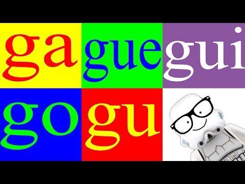Xxx Mp4 Aprender A Leer 20 – Sílabas Ga Gue Gui Go Gu – La Letra G Canal Block 6 3gp Sex