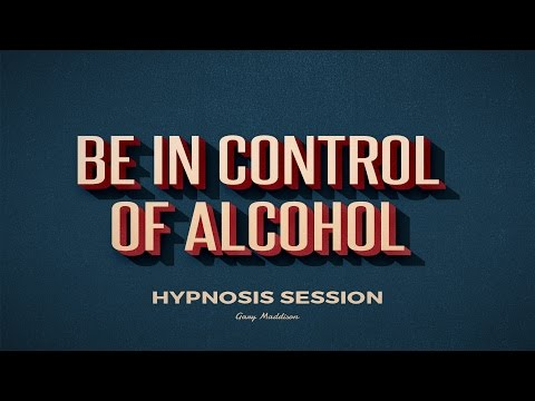 Be in Control of Alcohol Hypnosis Session