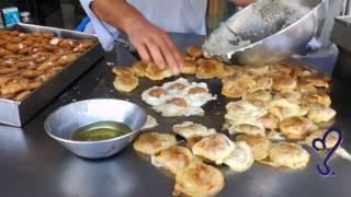 Bun Kabab Street Food Of Karachi, Pakistan
