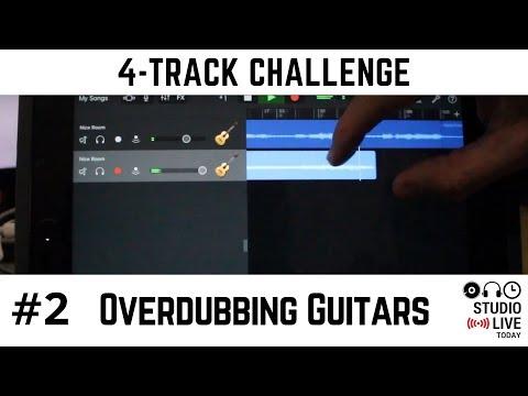Overdub Guitars in GarageBand iPad on Multiple Tracks (iOS - iPhone/iPad)