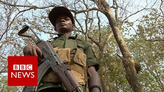 CAR: The town where only the UN is keeping the peace - BBC News
