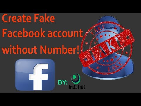 How to Create a fake facebook ID Without Number | Tricks Flood