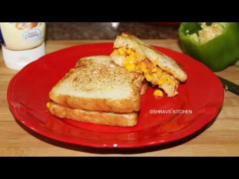 SWEET CORN SANDWICH