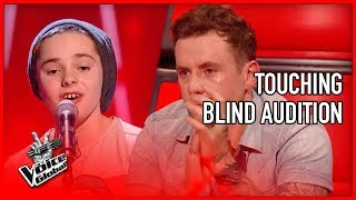 Coach in TEARS by TOUCHING Blind Audition | The Voice Global