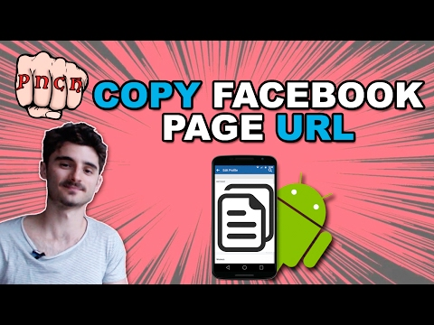 Copy Facebook Page URL on Android