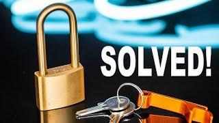 Solving The SECRET Lock Puzzle!!
