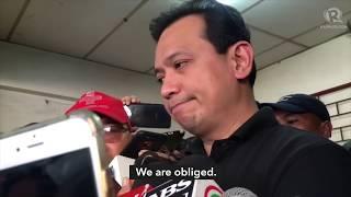 Trillanes in Duterte