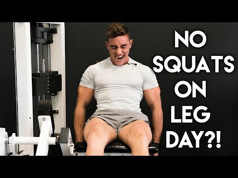 Leg Day VLOG   Full Workout & New Clothes