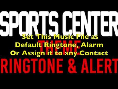 ESPN Sports Center Theme Ringtone and Alert