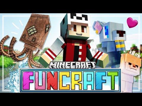 The Fun Begins!   Ep. 1   FunCraft Minecraft
