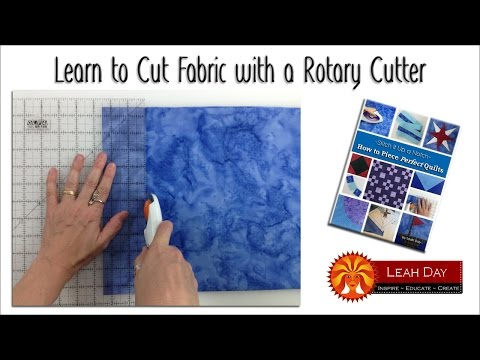 How to Cut Fabric with a Rotary Cutter for Quilt Making