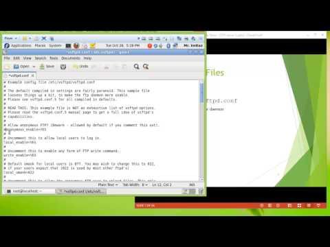 Configuring vsftpd FTP Server in Fedora Linux